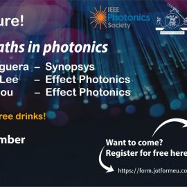Pub lecture Career paths in Photonics